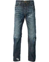 Diesel Blue Buster Jeans - Lyst