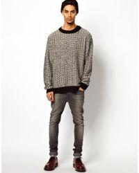 Cheap Monday Bulky Sweater - Black