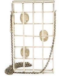 Anndra Neen - Embellished Cage Iphone Case - Lyst