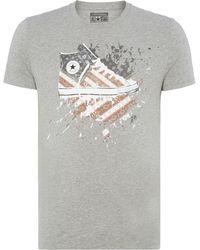 Converse Chuck Sketch Graphic T Shirt - Lyst