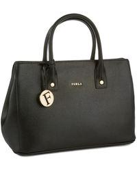 Furla Leather Small Linda Tote - Lyst