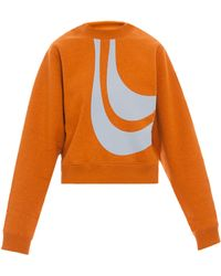 Acne Studios Bird Applique Ls Sweater - Lyst