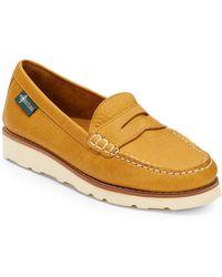 Eastland - Sugarloaf Leather Wedge Loafers - Lyst