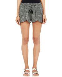 Natalie Martin | Crepe De Chine Savannah Shorts | Lyst