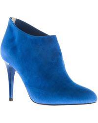 Jimmy Choo Blue Mendez Boots - Lyst