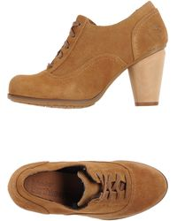 Timberland Lace-up Shoes - Natural