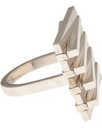 Uncommon Matters - Adjacent Bar Folding Ring - Lyst
