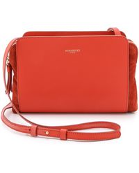 Nina Ricci Leather Cross Body Bag - Coquelicot - Lyst