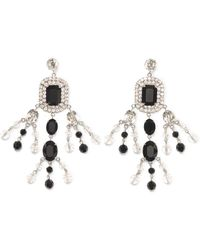 Ralph Lauren | Swarovski Chandelier Earrings | Lyst