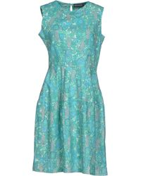 Antik Batik Green Short Dress - Lyst
