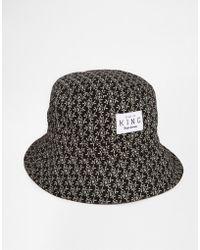 King Apparel - Botanic Bucket Hat - Lyst
