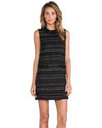 Rachel Zoe Irland Tweed Dress - Lyst
