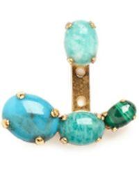 Ela Stone - 'lior' Graduating Amazonite Earrings - Lyst