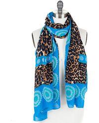 Theodora & Callum Leopard Lace Scarf
