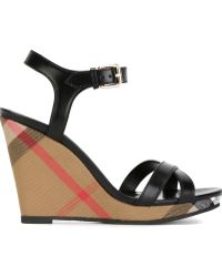 Burberry Wedge sandals for Women - Up