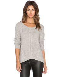 Wilde Heart - High Wire Knit Sweater - Lyst
