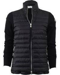 Moncler | Maglia Knit Puffer Jacket | Lyst