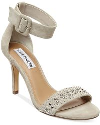 Steve Madden Women'S Canastel Two-Piece Dress Sandals - Lyst