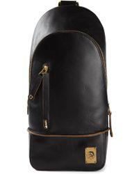 Diesel Black Brigs Backpack - Lyst