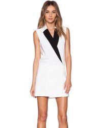 Rachel Zoe Lusso Suit Dress - Lyst