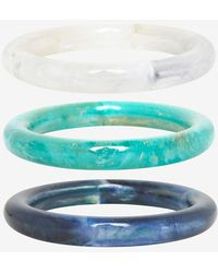 Pono - Marbled Resin Bangles - Lyst