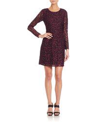 Shoshanna | Two-tone Lace Brooklyn Dress | Lyst