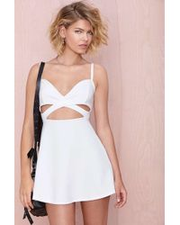 Nasty Gal Under Wraps Dress - Lyst