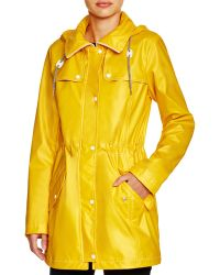 Jessica Simpson Hooded Rain Slicker - Compare At $160 - Yellow