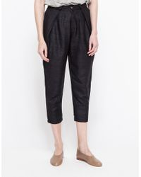 Objects Without Meaning Cecile Pleated Pant - Lyst