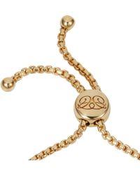 Caroline Creba - 18ct Rose Gold Plated Titania Friendship Bracelet - Lyst