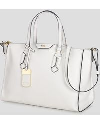 Ralph Lauren Lauren Satchel New Tate Convertible - White