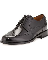 Cole Haan Air Carter Leather Wing-tip Oxford - Lyst