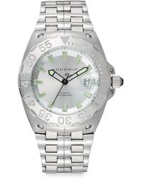 Android - Stainless Steel Corsair Sunray Watch/silver - Lyst