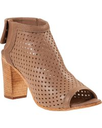 275 Central Perforated Bootie Taupe Leather - Lyst
