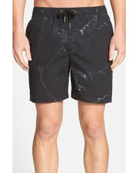 Zanerobe 'laguna 17 Inch' Board Shorts - Black