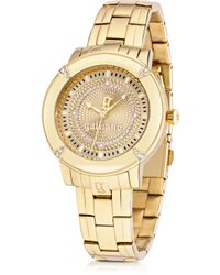 John Galliano The Decorator Gold Tone Stainlees Steel Womens Watch - Lyst