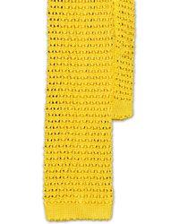 Ralph Lauren Polo Unicentto Skinny Tie - Yellow