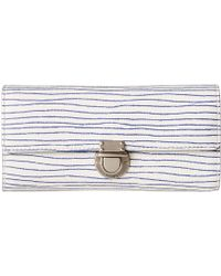 Fossil Riley Large Flap white - Lyst