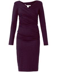 Diane Von Furstenberg Purple Bentley Dress - Lyst