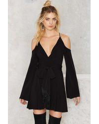 Nasty Gal | Going For Cold Shoulder Dress | Lyst