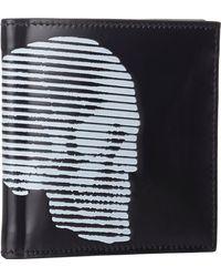 Alexander McQueen Skull Billfold - Lyst