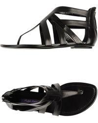 Ralph Lauren Collection | Thong Sandal | Lyst