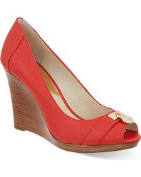 MICHAEL Michael Kors Hamilton Wedge Heels - For Women - Lyst