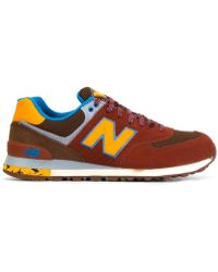 New Balance | red '574' Sneakers | Lyst