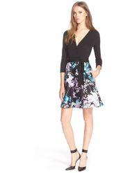 Diane von Furstenberg | 'valerie' Combi Dress | Lyst