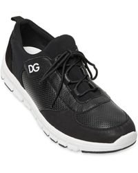 Dolce & Gabbana Superlight Leather Running Sneakers - Lyst