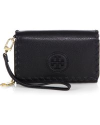 Tory Burch Marion Envelope Smartphone Wallet - Lyst
