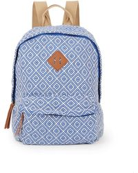 Madden Girl - Koach Faux Leather-trimmed Backpack - Lyst