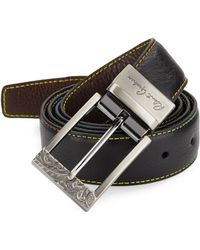 Robert Graham - Multicolor-stitch Cut-to-size Reversible Leather Belt - Lyst