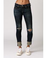 Rag & Bone Slim Fit 11 Skinny Jean blue - Lyst